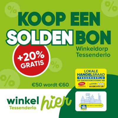 SOLDENbon: 20% gratis